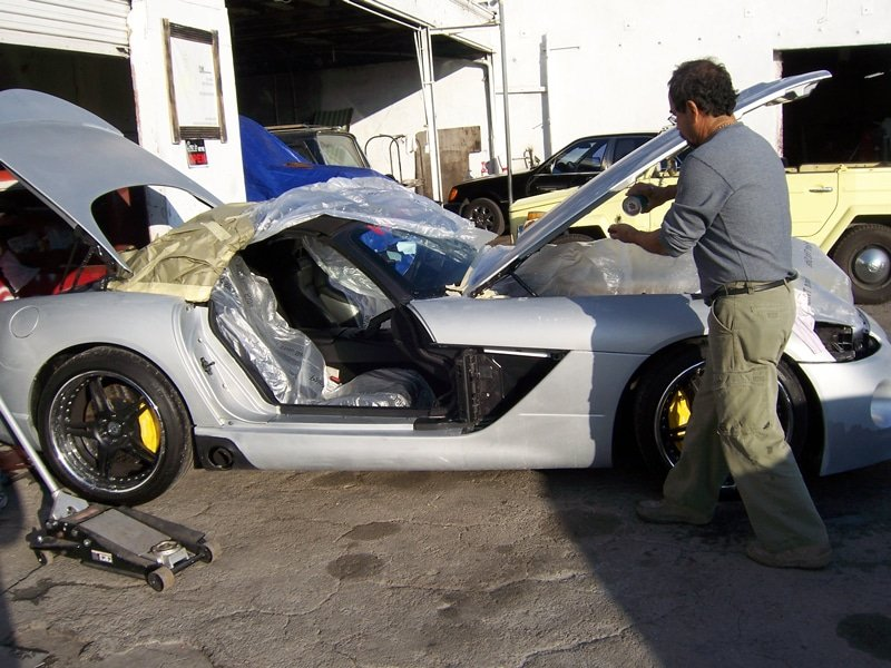 2005 Dodge Hennessey Viper Restoration