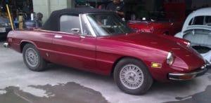 1974 Alfa Romeo Spider Restoration
