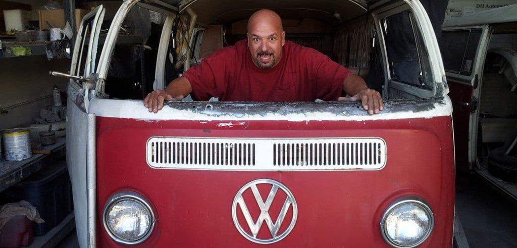 '71 Volkswagen Westfalia Tin Top Restoration
